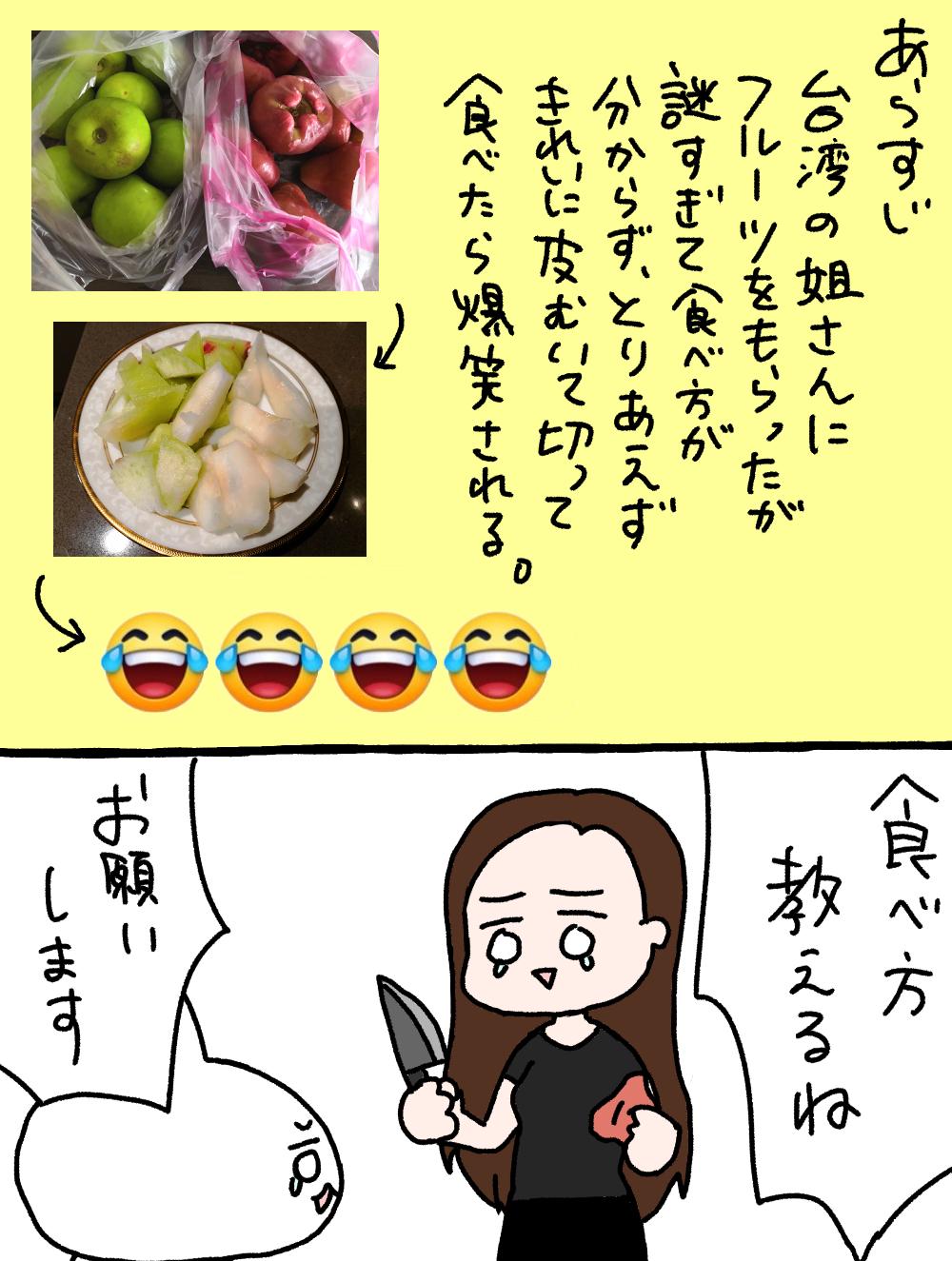 台湾で覚えておきたいフルーツの食べ方
