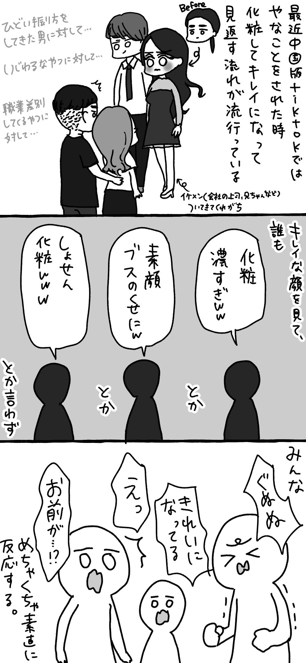 化粧や整形における日本と中国の捉え方の違い